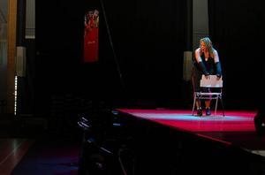 Petra Nilsson demonstrerar stripaerobics på Workout Åre för snart sju år sedan, om denna typ av träning bjuds även i år återstår att se.