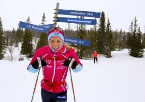 Lina Korsgren fick en kort satsning i Thomas Alsgaards team.