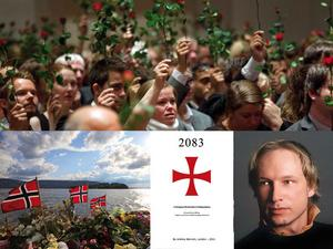 Inte ensam. Anders Behring Breivik är inte ensam om sina åsikter som han skrivit om i sitt manifest. Men de som tror på demokratin är fler.