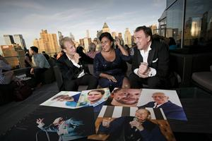 Christer Sjögren, Kristin Amparo och Andreas Weise ger sig ut i landet på en turné för att hylla Frank Sinatras 100-årsjubileum.
