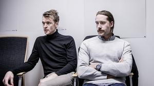 Jacob Claesson och Johan Blom delar på målvaktssysslan i ÖSK.