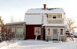 Så här ser Olle Lundgrens hus ut i Skålsvedja, Bjuråker...