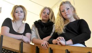 Skrivarlust. Att låta fantasin löpa fritt gillar Liv Almgren, Jenny Wikman och Sanna Holmström som med rätt valda ord vann årets upplaga av Lilla Nobel på gymnasiet.