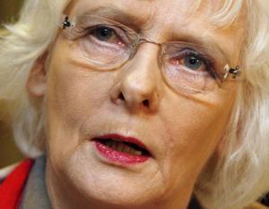 Statsminister Johanna Sigurdardottir.