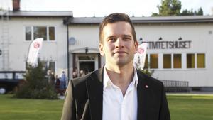 Gabriel Wikström är uppvuxen i bruksorten Riddarhyttan, något som gjorde steget till Socialdemokraterna kortare.  Foto: Arkivbild, Anders Jansson