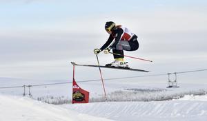 Sandra Näslund, Kramfors, kvalsnabbast av damerna.