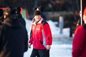 Mikael Hörnberg, tränare i Söråker Bandy