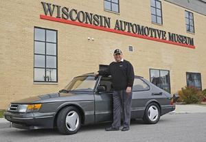 Peter Gilbert körde 1 miljon mil i sin Saab 900.