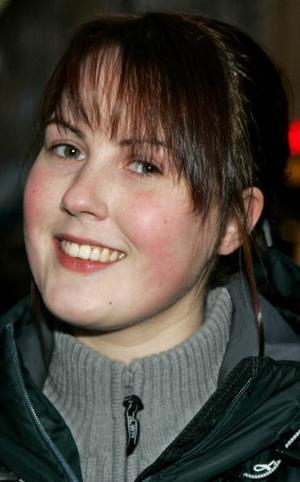 Anna Landberg,24 år, Frösön:– Nej. Jag går nog under stegar. Och jag brukar inte spotta tre gånger över axeln om det går en svart katt över vägen. Fredag den 13:e är ingen speciell dag.