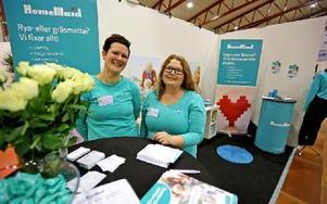 Ge bort en städning i present, tyckte Johanna Hermansson och Susanna Forslund på HomeMaid. Foto: Johnny Fredborg