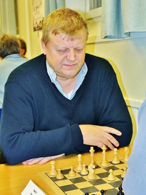 Gunnar Hjorth, ÖSS, vinnare av snabb-DM 2014.   Foto: Bo Wik
