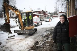 Det återstår både in- och utvändiga arbeten innan vandrarhemmet Hantverkaren kan flytta till gamla badhuset i Ljusdal, konstaterar Barbro Jacobsson, chef för intraprenaden Hantverkargården.