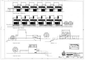 Så här ska radhusen se ut. Invid den nyanlagda kanalen på Gävle Strand ska Lupinen Fastigheter bygga sex radhus, som blir tre våningar höga och får en boyta på 162 kvadratmeter vardera. Radhusen och 40 planerade bostadsrättslägenheter börjar säljas i mitten av mars.