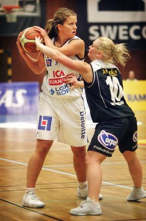 Ida Andersson. En av spelarna i stommen som coach Bolin vill värna om till kommande säsong.Stina Söderbergh. En annan av spelarna i stommen som coach Bolin vill värna om till kommande säsong.