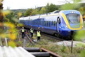 Två döda efter tågolycka i Granlo i Sundsvall.