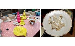 Keramik är den gemensamma nämnaren för den kooperativa verkstaden. FOTO: MIKAEL ERIKSSON