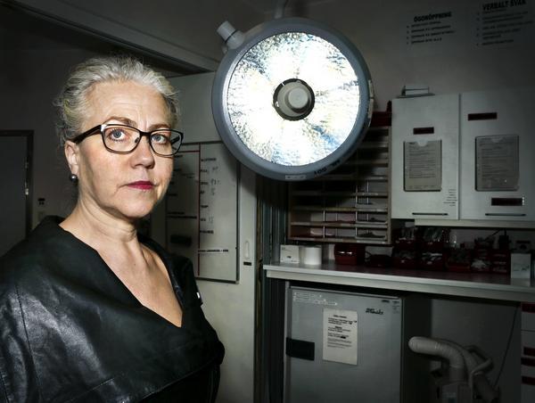 Tiohundras chefläkare Susanne Bergenbrant Glas.