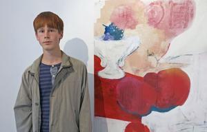 Jacob Tromark är graffitimålaren som började på Konstskolan i Gävle.
