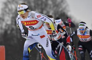 Stina Nilsson i jakt på en ny världscupseger.