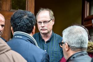 Idris Ayik berättar om situationen i Turkiet för Kenneth Persson (S).