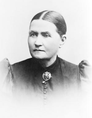 Katharina Holmer har gett namn åt Katrinelundsparken och Katrinelundsgatan.