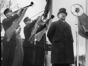Nils Edén, statsminister 1917-20. Bilden togs 1935.