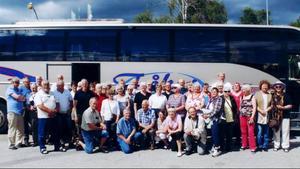 En paus och bussfika i Sveg