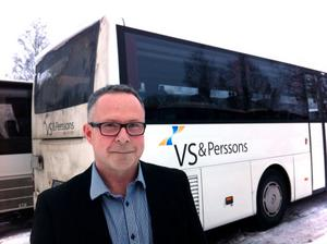 Michael Wikström, vd för VS & Perssons Bussar.