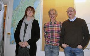 Delar av projektgruppen: Anki Sylwan, Krister Andersson (föreståndare) och Lasse Westin.