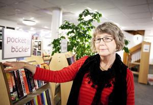 Bibliotekschef Ingrid Olsson skulle villa knyta samman biograf, bibliotek, konsthall och café till ett enda kulturhus.