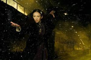 Ziyi Zhang spelar Gong Er, som får ta på sig den för kvinnor otraditionella rollen att kämpa för sin familjs heder i