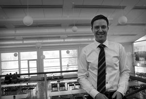 Peter Wellén basar över de som till våren ska bli 140 anställda. Men de nya lokalerna är på 2500 kvadratmeter, så det är inte särskilt trångt.