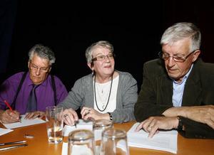 Ljusdalslaget bestående av Willy Eriksson, Gunhild Carlbom och Hans Turström bjöd på tufft motstånd.