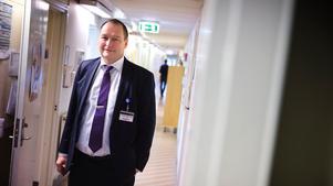 Mikael Runsiö, vd och chef för Södertälje sjukhus.