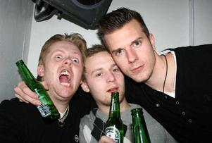 Konrad. Jocke, Johan och Danne