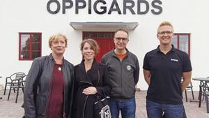 Glada dalabryggare från Ryentorps Bryggeri i Falun, Mora Bryggeri och Oppigårds i Hedemora. Foto: John Leander