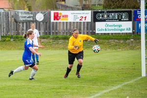 Kajsa Sund i Rimbo får vänta på första målet den här säsongen.