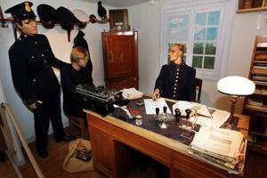 Alla polismuseets saker packas nu ner och magasineras, för det finns inte plats för museet när polisen flyttar från polishuset på Köpmangatan till nya lokaler på Fyrvalla.