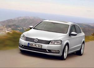 Volkswagen Passat BlueMotion.