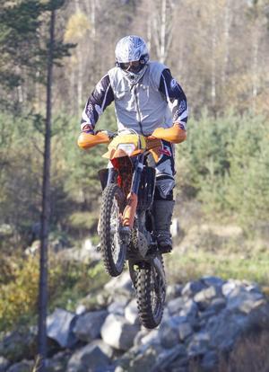 Magnus Bergström var en av deltagarna på helgens träningsläger.