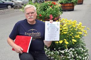 Bengt Hedström är med i arrangörskommittén som har jobbat med seniormässan, som hålls i Folkets Hus på söndag.