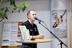 – Vi vet att många människor bär på en dröm att starta eget, säger Ove Törnqvist från Arbetsförmedlingen.