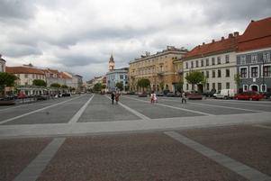 Vilnius torg och gränder ligger öppna för kulturhuvudstadsåret 2009. Foto: Mikael Persson