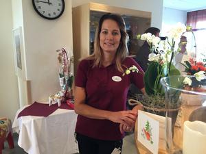 Eva Fogd, avdelningschef för patienthotellet vid Falu Lasarett.