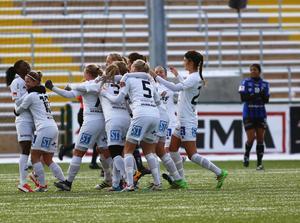 Sundsvallsjubel efter seger 4–1 och elitettanplats även 2017.