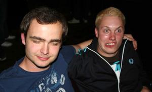 Blue Moon Bar. Jonte och Johan
