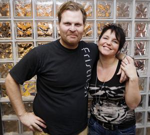 Lättare på vågen och mindre runt midjan är facit för Magnus Nilsson och Petra Adolfsson efter tre månader med omlagd livsföring.