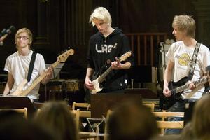 Jämtlandssången presenterades av en gitarrtrio, i ett spännande arrangemang.
