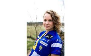 OK Kåres Lisa Risby fick kliva högst upp på pallen under Europacupen i Frankrike. Foto: Lars Dafgård/arkiv