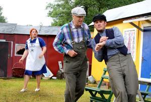 Intriger. Hanna Säfström, Helge Torstein och Thobias Sigvardsson.
